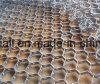 Rete Hex materiale ss 304 ss 410 delle coperture del metallo dell'abrasione
