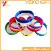 Buntes Silikon Wrisband u. Armband Customed (YB-HR-97)