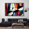 Impresiones abstractas coloridas modernas de la lona