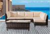 Serie spessa della canna di sofà esterno della mobilia di svago
