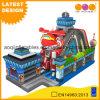 Parque de diversões inflável da cidade do divertimento do aeroporto do preço de fábrica para a venda (AQ01741)