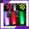DJ Equipment Stage Lighting 7X12W LED Wash Moving Head Poutre
