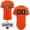 Baseball arancione Jersey dei San Francisco Giants
