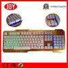 Backlit лазер USB клавиатуры черноты разыгрыша проекции Djj219 лазера