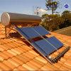 Géiser solar a presión montado azotea del tubo de calor de la cuesta