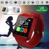 人間の特徴をもつIos Bluetoothのスマートな腕時計U8の携帯電話