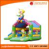 Kasteel van Combo van de Dia van Bouncy van het Speelgoed van de Speelplaats van de Jonge geitjes van pvc het Opblaasbare (T3-002)