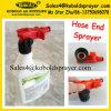 Pulverizador da extremidade da mangueira de jardim do pulverizador da espuma