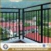 El balcón de aluminio ensamblado de la capa del polvo tasa el pasamano