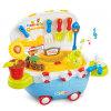 A música brinca os brinquedos do jardim da casa do jogo de crianças (H6977162)
