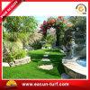 Herbe artificielle synthétique de décoration Anti-UV d'horizontal pour le jardin et la maison