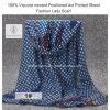 Signora posizionata viscosa Scarf di modo dello scialle stampata PUNTINO di 100% più nuova