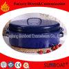 Nuovo Cookware ovale del girarrosto di formato medio dello smalto di disegno di Sunboat