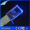 free Company 로고 조각 수정같은 LED 가벼운 USB 섬광 드라이브