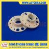 Alta precisione che lavora il piatto di ceramica della flangia di 99% Al2O3/Alumina/parti alla macchina di ceramica