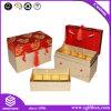 Gewünschter Aussehen-Farbband-Papptee-verpackengeschenk-Kasten