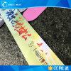 調節可能な13.56MHz PVC RFID NFC Ntag203バンドブレスレット