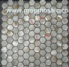 Ametralladora del sexo del presagio del mosaico de Shell del río de WHexagonal (SSSM-020) (DS-A)