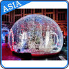 Inflable gigante humana globo de la nieve / Show Ball para la decoración de Chritmas