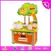 Новые дети конструкции претендуют игрушку кухни игры установленную деревянную варя комплект W10c315