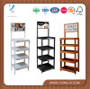 4 Pfosten Wood Pop Display Rack mit 5 Shelves