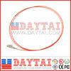 Treccia ottica bassa della fibra di perdita di inserzione LC/Upc millimetro