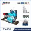 Trailer portatile Mounted Borehole Drilling Equipment Price 150m Depth Xy-150