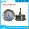 calibro di temperatura di pressione della cassa di acciaio inossidabile di 63mm
