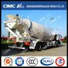 Process fine Cimc Huajun 8*4 20m3 Mixer Truck