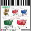 Carrello di plastica del carrello di acquisto del supermercato