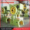 Отверстия давления 6.3t серии J23 машина механически мотылевого пробивая