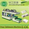 Articoli per la tavola della pasta di carta che rendono a macchina la macchina di formatura a perdere della zolla di carta
