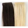 Extensão de trama Pre-Gravada Remy européia do cabelo humano da pele