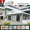 Luxuxquadratische Hochzeits-Großhandelszelte mit doppelter Flügel-Glas-Tür