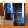 Escrituras de la etiqueta autas-adhesivo con estilo de encargo de la botella de vino rojo
