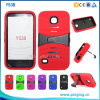 Boost Mobile PC+Silicone Combo Shockproof Hybrid Kickstand Cases for Huawei Union Y538 Case