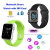 Поддержка телефона вахты Bluetooth 4.0 франтовская с гнездом для платы SIM (DM09)