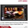 Auto-DVD-Spieler STC-6805 errichtet in den DVD Spielern für Autos, Auto Stereo-Fernsehapparat und DVD-Spieler