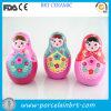 Bunte kleine Verzierung-keramische russische Puppe