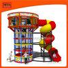 Крытая мягкая спортивная площадка парка атракционов с башней спайдера малыша
