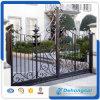 Poort Van uitstekende kwaliteit van het Smeedijzer Arached van het kanton de Eerlijke Decoratieve Sier voor Woon/Oprijlaan/Vellia