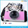 Nuevo caso creativo del teléfono de la cámara de la vendimia del diseño para el iPhone 6/6s