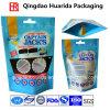 Пластичные Ziplock животные питания упаковывая мешок с материалом качества еды