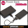Grosse Capacity 20000mAh Portable Charge Power Bank für iPhone