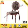 Задняя часть античной ткани круглая обедая стул венчания (CY-1012)