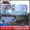 Cubierta de acero inoxidable Barandilla de vidrio Balcón