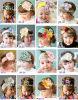Art- und Weisespitzenbaby-nettes schönes Weihnachtsbaby-Stirnband mit Blumen-Baby-Liebe