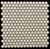 Pequeño mosaico de cerámica redondo amarillento 2016 en China (OYT-O001)