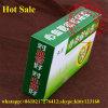 도매 선물 포장 로고 인쇄를 가진 명확한 폴딩 플라스틱 상자 녹색