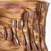 Зажим 8A толщиного конца Unprocessed белый в выдвижении волос